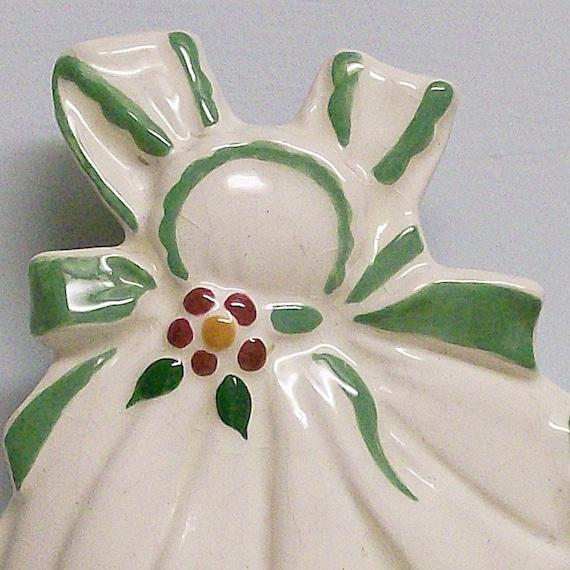 Sweet Little Sundress Ceramic Wallpocket
