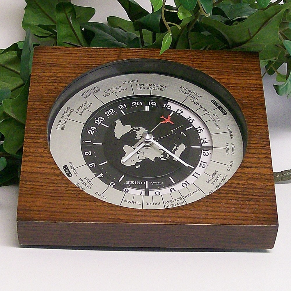 Seiko Desk Clock
