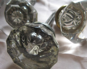 Crystal Doorknobs NOT MATCHED decorative only