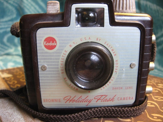 Vintage Brownie Holiday Flash Camera 1950's