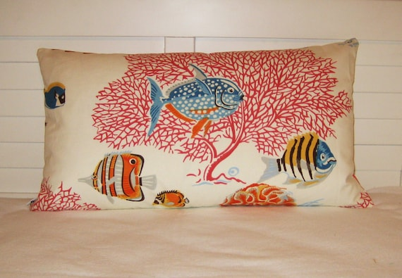 """Waverly  Go With The Flow 14""""x24""""  Lumbar Pillow Cover"""