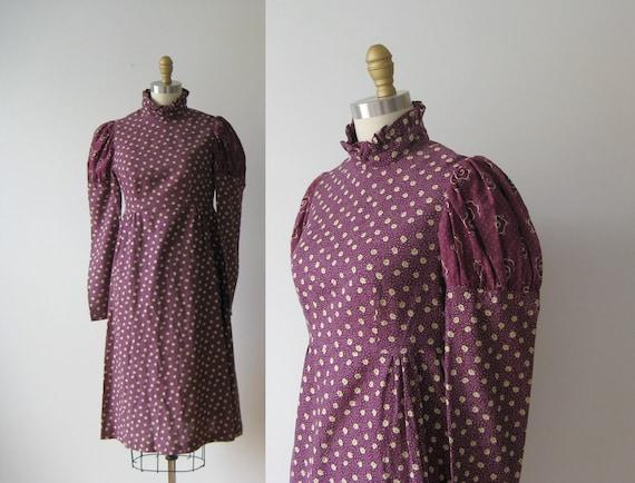 1970s dress // Young Edwardian