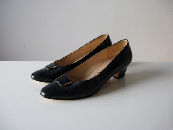 vintage Salvatore Ferragamo shoes by Dronning on Etsy
