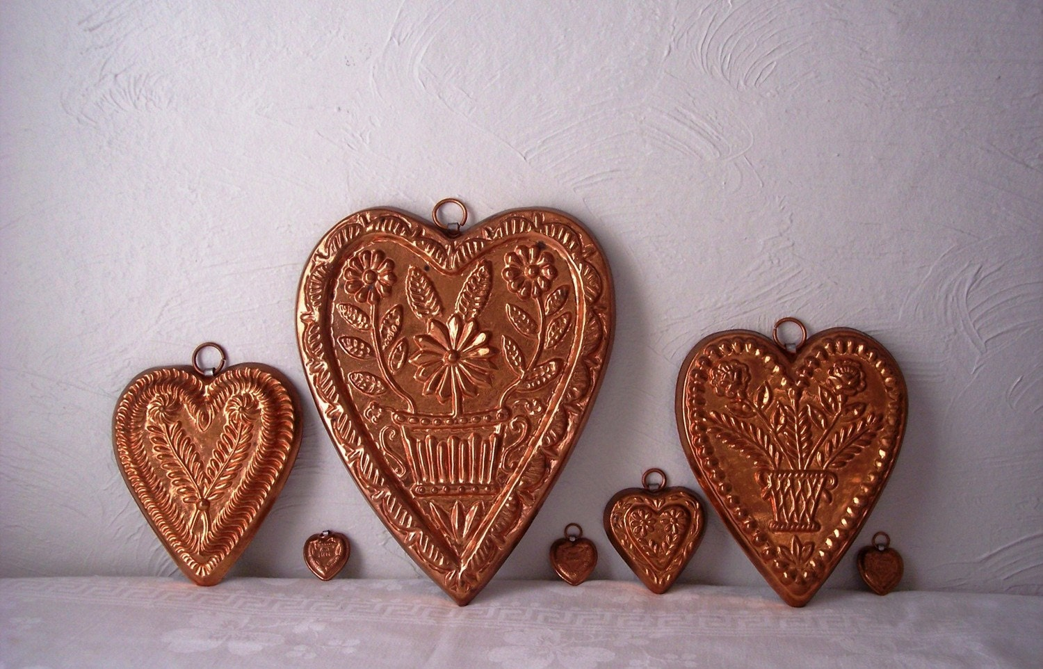 Copper Chocolate Molds