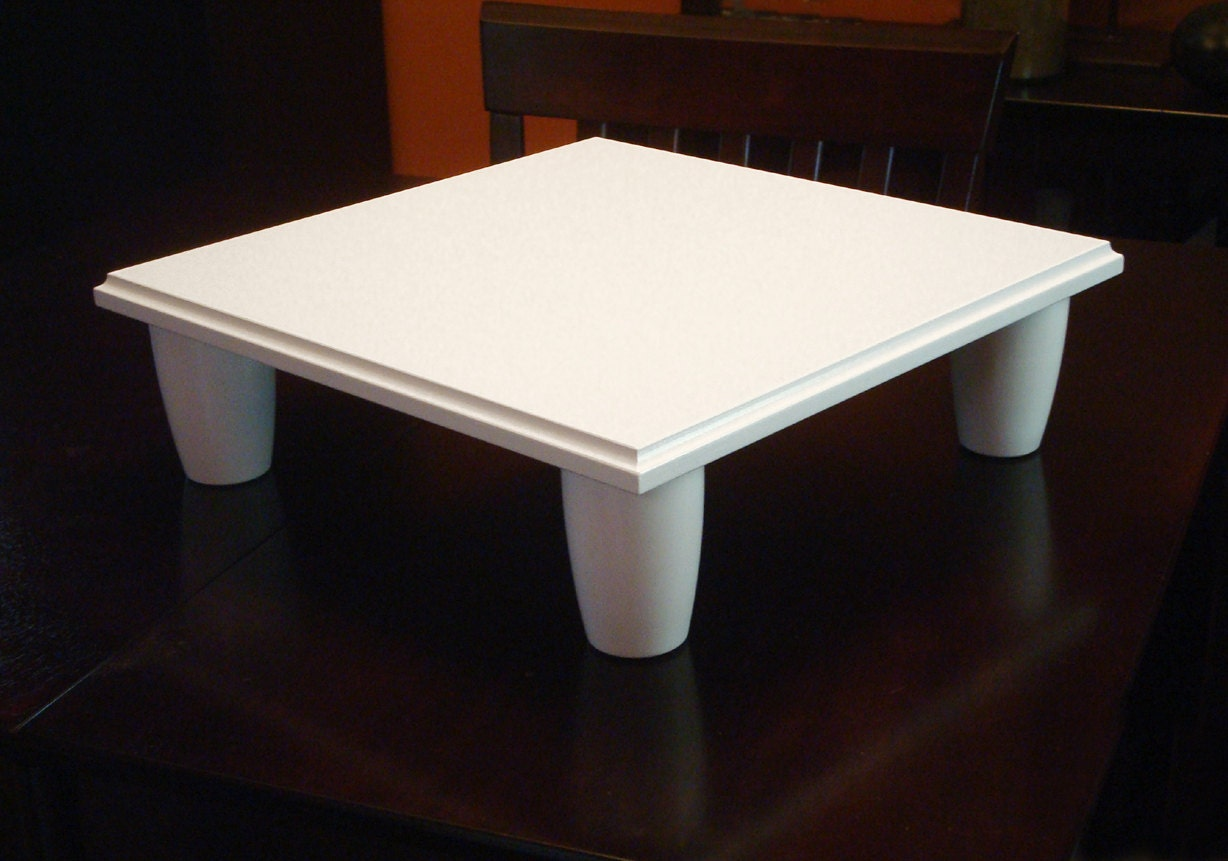 Wedding Cake Stand Square 16 inch Platform Style by