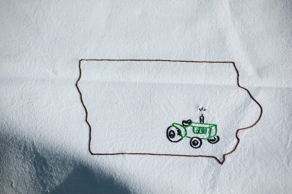 Iowa Tractor Towel
