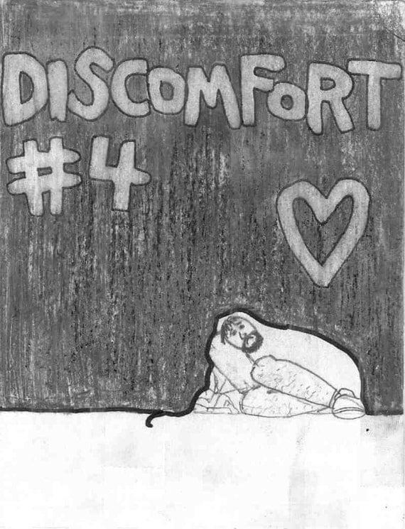 Discomfort zine issue 4