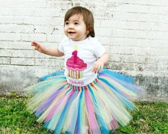 cupcake birthday onesie or shirt