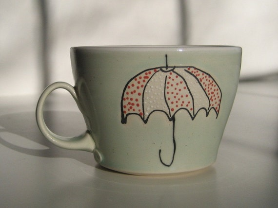 Umbrella  Mug- SALE