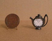 Miniature wall or table clock for your dollhouse