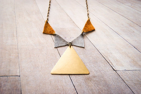 Bunting on Golden Summit Necklace - Limited Edition
