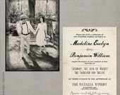 "Wedding Invitation - the ""Madeline 1"""