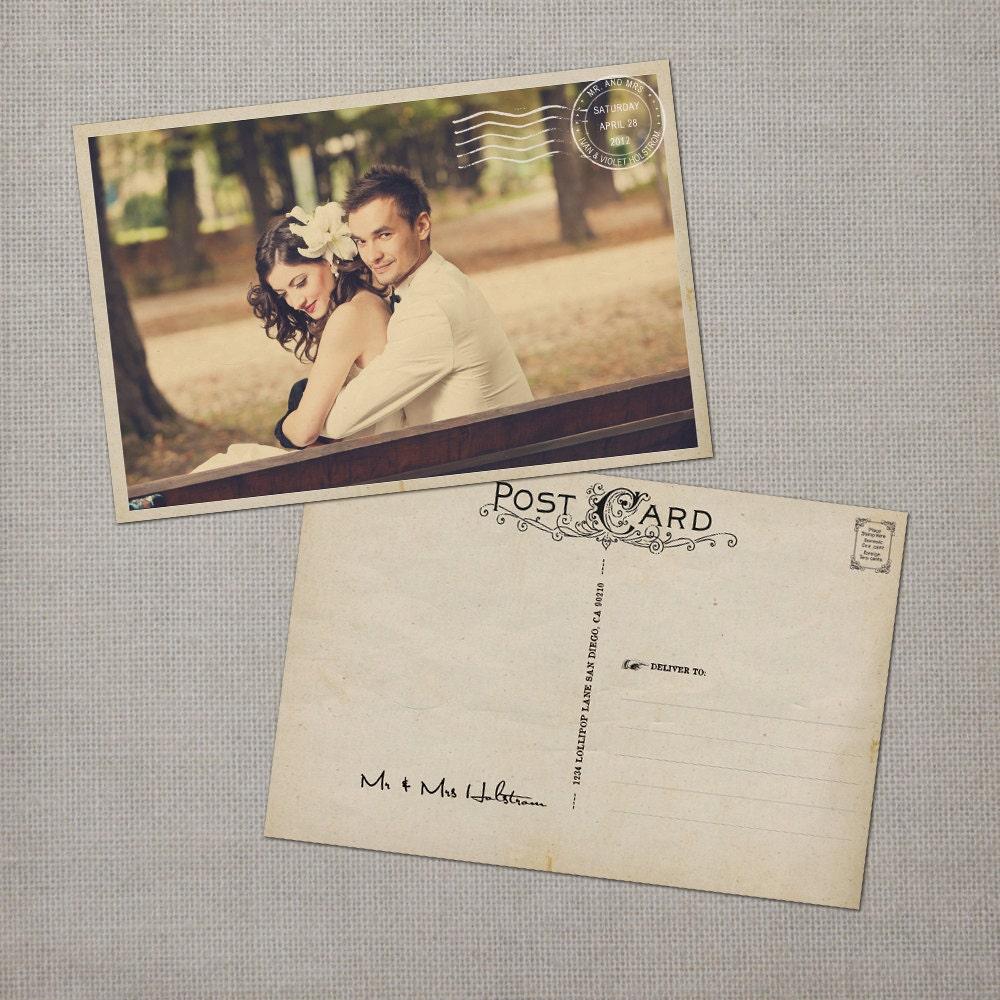 Vintage Wedding Thank You Cards Wedding Thank Yous Wedding