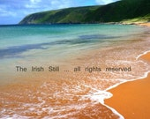 Kinnagoe Bay, Co. Donegal ... Irish photo card
