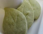 Green Tea Leaves- Shortbread Cookies