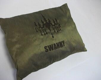 Swanky Silk Pillow