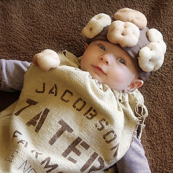 Sack O' Taters - personalized costume - Newborn