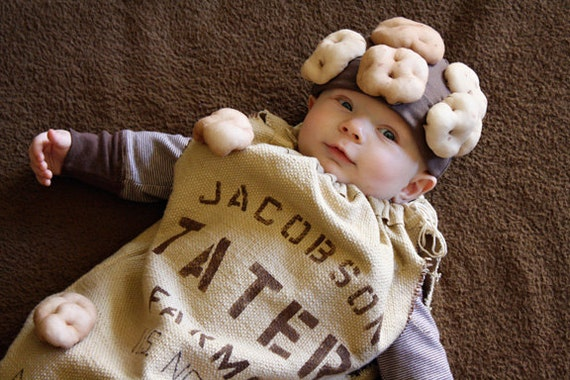 Halloween Costume Sack of Taters