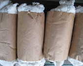 Cotton FIBER for spinning, excellent quality washed white