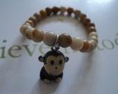 Monkey Business Monkey Charm Bracelet