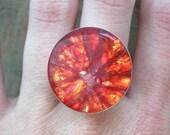 Blood Orange Ring - Fruit Jewelry