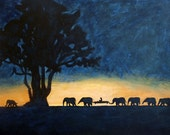 Safari of Dreams -Original Painting