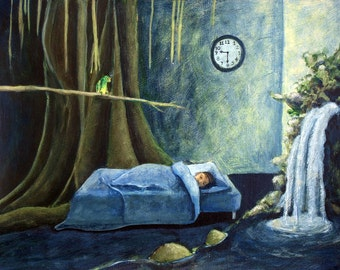 Waking to a Rainforest - Original Painting