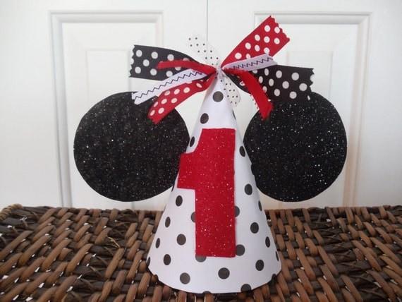 Minnie Mouse Birthday Hat