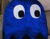 Pacman Ghost Plush Pillow Cushion