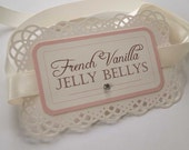 Reserved listing for patty2705 - Custom Lace Candy Buffet Labels for Wedding or Party