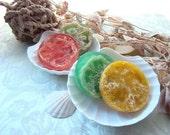Fruit Slice Loofah Soap