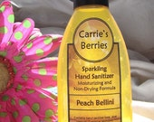Sparkling Hand Sanitizers--Enriched with Vitamin E--Many scents available--