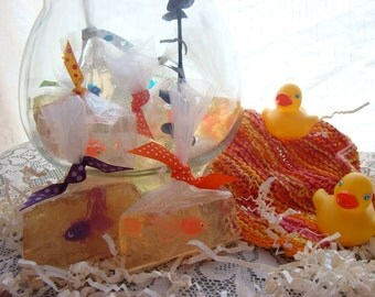 Goldfish in a Bag Soap--Great Children's Soap and Great Party Favors.