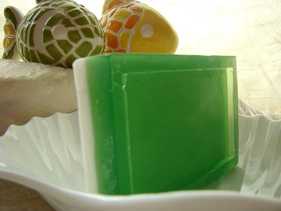 Exotic Coconut Bar--cocoa butter soap infused with shea butter
