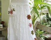Nothing to Worry Long Skirt II - WHITE