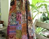 PATCHWORK Boho Gypsy A Shape Long Skirt - PK0701