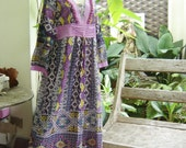 Long Sleeved Maxi Cotton Dress - PP1003