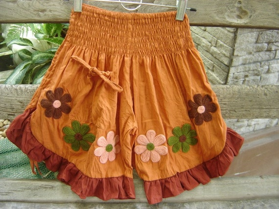 KIDS-TEENS Nothing to Worry About Pants - Orange