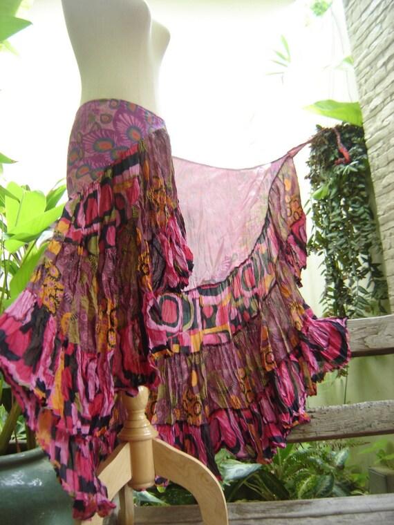 Ariel on Earth Ruffle Wrap Skirt - P0902