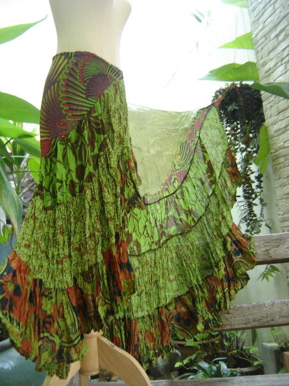 Ariel on Earth Ruffle Wrap Skirt - G120212