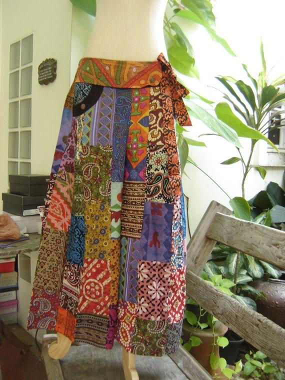 PATCHWORK Boho Gypsy pants - PW1202-5