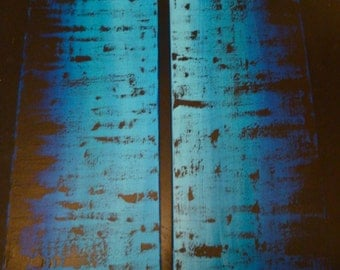 Sale Large Two Piece Original Abstract Acrylic Art Painting