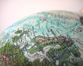 Vintage Globe - Replogle World Globe, Ocean Earth Model circa Late 1970s from saltcityspice