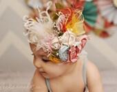 Nursery Rhyme headband made to match Matilda Jane Serendipity