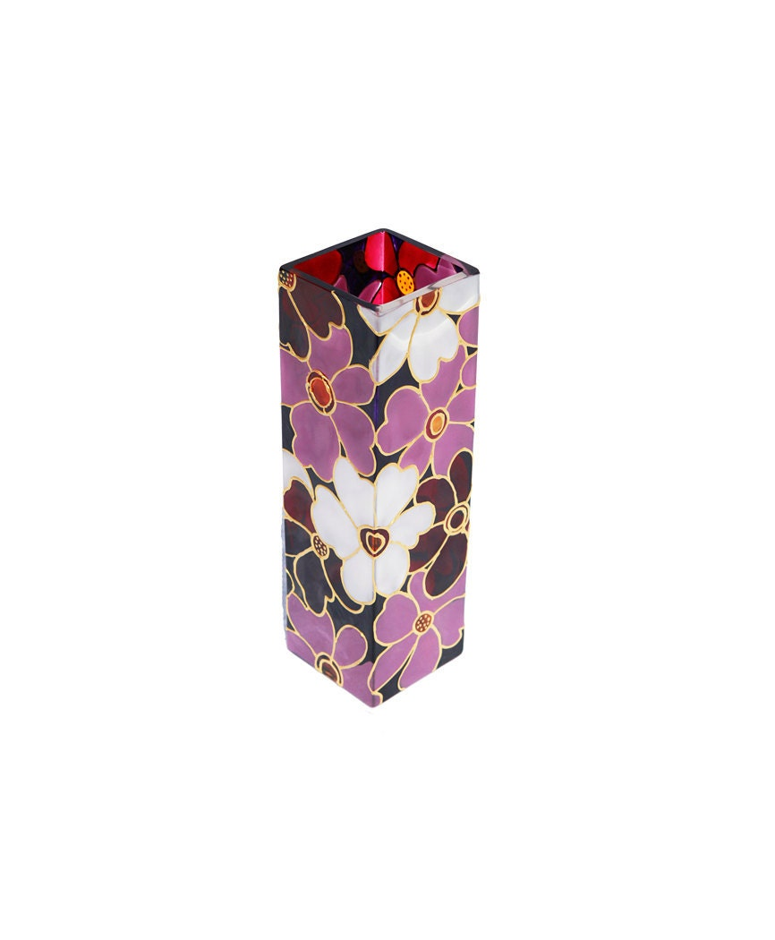the gallery for gt flower vase painting designs