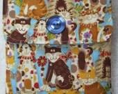 Padded Kindle Case, Kindle Sleeve Cat Fabric UK