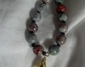 Lemondrops and Gumdrops Fully Beaded Necklace FREE SHIPPING