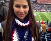 New England Patriots Colors Scarves,  Hats or Caps by Kams-store.com