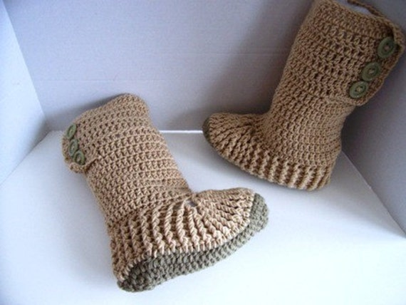 Crochet Pattern For Ugg Boots For Adults