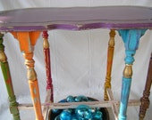 Gypsy Tent Accent Table